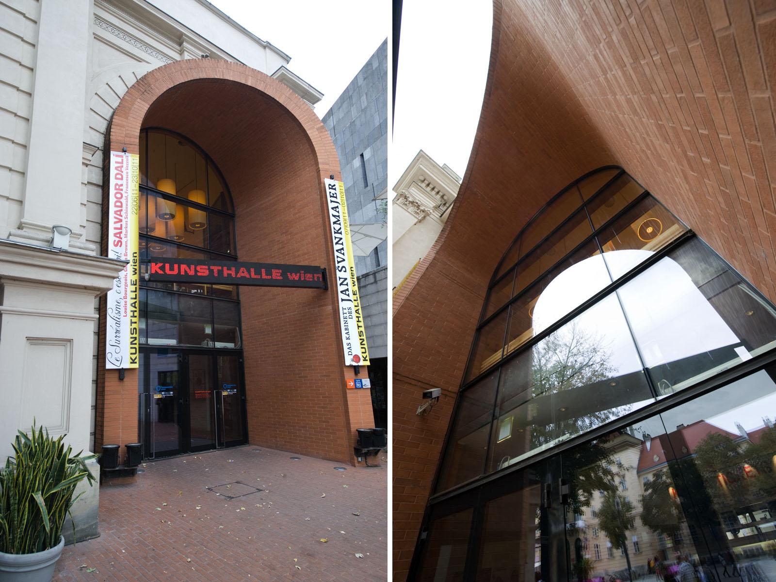 EINGANGSPORTAL MUSEUMSQUARTIER WIEN